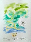 Miniatyr av akvarellen På Insidan 4