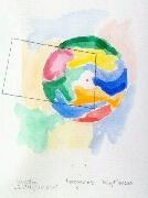 Miniatyr av akvarellen Perspektive 3