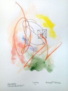 Akvarell Verka 1