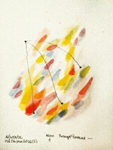 Akvarell Hon 1