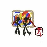 Symbol för konst för barn