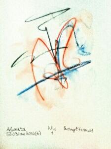 Akvarell Nu 1
