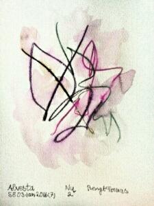 Akvarell Nu 2