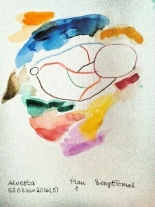 Akvarell Plan 1