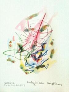 Akvarell Poeten Salvador