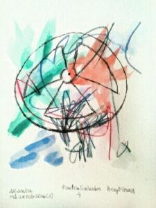 Akvarell Poeten Salvador 1
