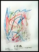 Akvarell 'Café St. Clair 1' av Bengt Tomas
