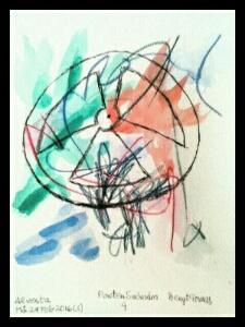 Akvarell Poeten Salvador 4