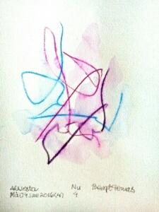 Akvarell Nu 4