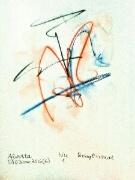 Akvarell 'Nu 1'