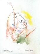 Akvarell 'Verka 1' av Bengt Tomas
