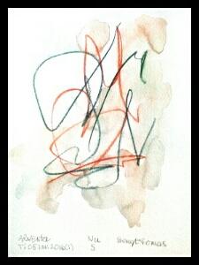 Akvarell Nu 5