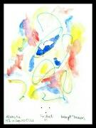 Akvarell 'Frihet 11' av Bengt Tomas