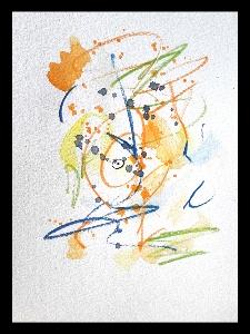 Akvarell Lisa Ekdahl 1
