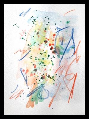 Akvarell MATEMATIK Magnus Tideman 1