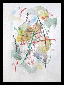 Akvarell  KONST Sven Ljungberg 1
