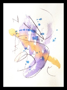 Akvarell PERSON 6
