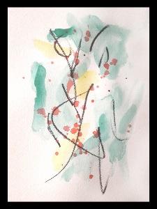 Akvarell PERSON Själv 5