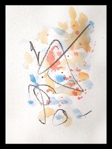 Akvarell PERSON Själv 6