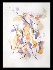Akvarell PERSON Själv 7