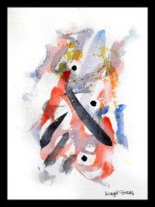 Akvarellen Kärlek