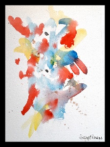 Akvarell Horisont
