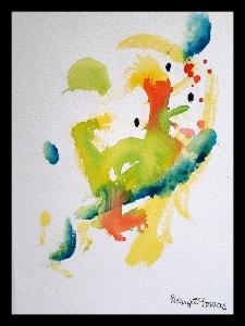 Akvarell Kulturgryning